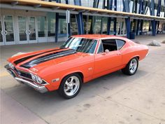 1968 Chevrolet Chevelle SS Custom 2 DR Coupe