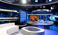 Television set design, TV set design, light entertainment, English Premier League