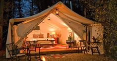 """These """"Glamping"""" Resorts Are Breathtaking…But Wait Until You See Their Surroundings! OMG! via LittleThings.com"""