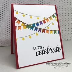 my Ink well Lets Celebrate, I Card, Ink, Let It Be, Home Decor, Decoration Home, Room Decor, India Ink, Home Interior Design