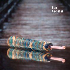 """Háček s """"kouzelnou"""" ručkou LaMona, velikost 4,0 mm #hackovani #haceksruckou #lamona #hacekskouzelnouruckou #crochet #hook"""