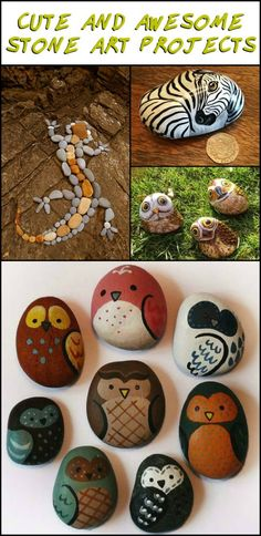 It's Amazing What You Can do With a Bit of Imagination And a Few Stones