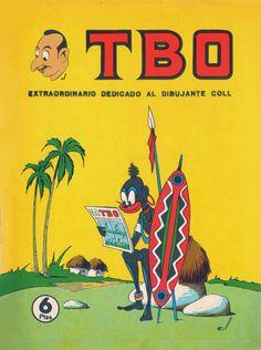 TBO-Portadas antiguas de TBO-Tebeos antiguos-Rafael Castillejo-Zaragoza en la memoria-