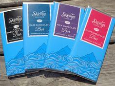 Skelligs Chocolate Bar's #skelligschocolate #darkchocolate #MilkChocolate #whitechocolate