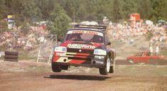 MG Metro bi-turbo rallycross car Jaguar Xj220, David Wood, Mg Cars, Sports Car Racing, City Car, Car Painting, Rally Car, Aston Martin, Cool Cars