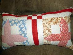 Cutter quilt pillow.