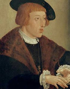 Jan Cornelisz Vermeyen - Kaiser Ferdinand I. / Gem. v. Vermeyen - digitaler Kunstdruck