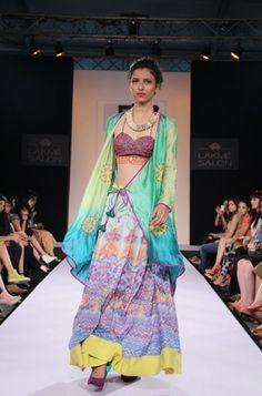 Karishma Shahani Spring & Summer Collection 2013 – Sensual Accents