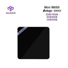 MEMOHi MEMOBOX Mini M8S II Android 6.0 Smart TV Box Amlogic S905X Quad core 4K 2K H.265 Kodi IPTV Media Player Set-top box