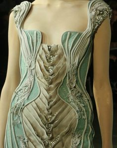 Luna Moth Dress..  this is outrageous