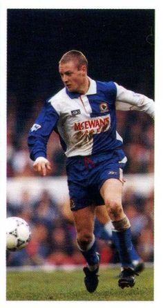 David Batty of Blackburn Rovers in 1993.