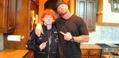 Cool picture of Mark Calaway (WWE Icon The Undertaker) and his son Gunner