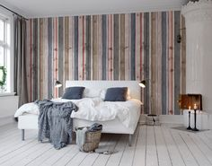 Wallpaper Wall mural strepen behang  living online LIVING-shop.eu behang webshop http://www.living-shop.nl.rw.nu