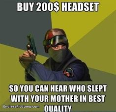 Counter Strike 200dollar Headset