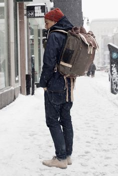 I love the backpack...it doesn't look practical but it looks neat.