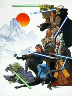 "Jedi Knight: Referred to a member of the Jedi Order, who completed their Jedi training as a student in the Jedi academy, in addition to one-on-one training as a Padawan & the completion of the Jedi Trials. As a Knight & a full member of the Order, these individuals received assignments from the Jedi Councils & strove to find peace, & maintain order within the Galactic Republic. Making up the majority of the Order's members, the public addressed any Jedi as ""Knight""."