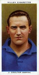 1935-36 W.D. & H.O. Wills Association Footballers #10 Jackie Coulter  Front