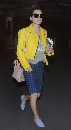 Kangana Ranaut at the Mumbai airport. #Bollywood #Fashion #Style #Beauty #Hot #Classy