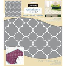 Michaels has stencils for arts and crafts that are sure to brighten up your home. Get inspired for your next project with one of our stencils or stencil kits. Laser Cut Stencils, Wooden Storage Boxes, Stencil Painting, Quatrefoil, Painting Cabinets, Vintage Patterns, Kids Rugs, Projects, Inspiration