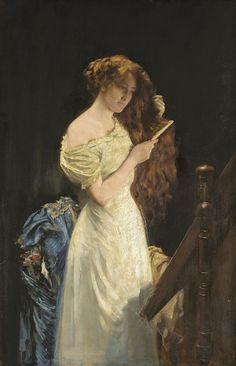 Sir Thomas Kennington (1856-1916), The glory of womanhood.