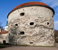 So-called Fat Margaret is one of the best preserved of #Tallinn's 14th-century towers. #estonia