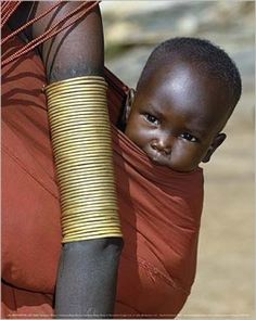 Africain - Mère Et Enfant, John Warburton-Lee
