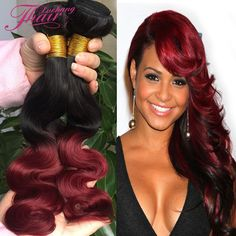 Is a wig ombre red bob wigs for black women synthetic short black and burgundy brazilian hair body wave ombre red brazilian virgin hair body wave 3 bundles dark red human hair weave pmusecretfo Image collections
