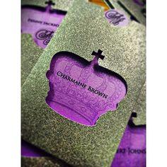 More #weddingsaturday love! Look at this gorgeous stationery by coterie member @sandispells  | #munacoterie | #Repost @sandispells  We're getting ready for a Royal Wedding this weekend.... Congrats!!! Ashanda & Julienne #escortcards  #munaluchibride #munacoterie #weddingwonderland