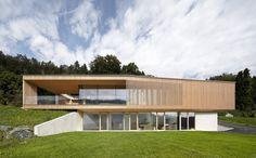 Modern House Design : Haus K by Helena Weber Architecture Résidentielle, Temporary Architecture, Amazing Architecture, Stommel Haus, Feldkirch, House On The Rock, Modern House Design, Design Awards, Cabana