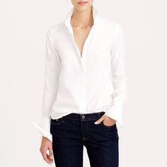 Rank & Style   Ann Taylor Perfect Long Sleeve Button Down Shirt