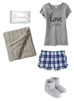 """Pajamas"" by fearless-dreamer09 ❤ liked on Polyvore featuring Bedeck, Old Navy, Monsoon and Victoria's Secret"