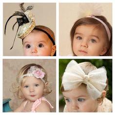 Royal Tea Headbands Little girls vintage inspired by RoyalTeaHats https://www.etsy.com/shop/royalteahats