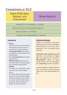 15 Mittel der Homöopathie für Babys und Kleinkinder by Lucia Cremer - issuu