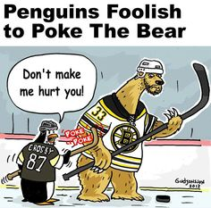 Don't poke the bear...