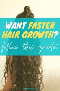 Who doesn't want their hair to grow faster? This guide to hair growth will tell you how to grow long hair quickly! Long Hair Tips, Grow Long Hair, Grow Hair, Vitamins For Hair Growth, Hair Vitamins, Healthy Hair Tips, Healthy Hair Growth, Fast Hairstyles, Easy Hairstyles For Long Hair