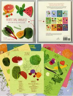Perpetual Harvest, 12 prints illustrated by Claudia Pearson