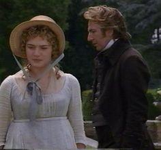 Sense and sensibility. Brandon and Marianne. regency fashion