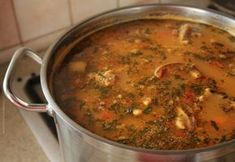Romanian bean soup with smoked meat Romania Food, Soup Recipes, Cooking Recipes, Smoking Meat, Bean Soup, Curry, Good Food, Beans, Food And Drink