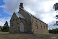 St James of Jerusalem, Consecrated in 1884. Made of sandstone quarried locally at Daisy Banks. The town of COLEBROOK, Tasmania,  was formerly known as Jerusalem.