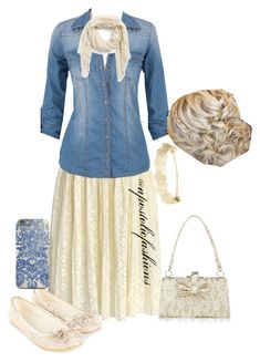 """""""Apostolic Fashions #767"""" by apostolicfashions ❤ liked on Polyvore featuring Chicwish, Accessorize, H&M, Evelyn K and Monsoon"""