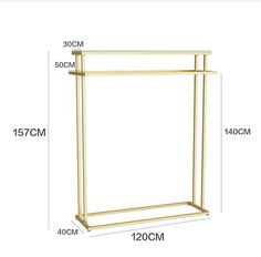 Online Shop Golden clothes shelf clothing store in the island frame double-sided women's clothing store bag display rack floor double row. Clothing Store Interior, Clothing Store Displays, Womens Clothing Stores, Women's Clothing, Clothes For Women, Cheap Storage, Bag Storage, Diy Clothes Rack Cheap, Portable Backdrop