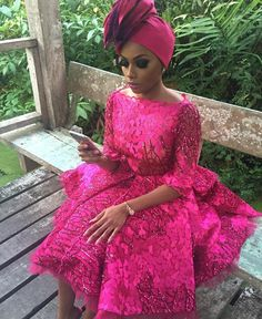 South African TV Host Bonang Matheba Slays Beautifully in Nigerian Fashion Staple - Wedding Digest Naija