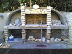 Parfait Habillage En Pierre Exterieur Barbecue