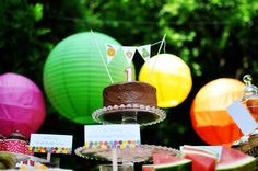 Very Hungry Caterpillar Birthday Party - Kara's Party Ideas - The Place for All Things Party