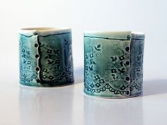 Cath Ball stitched ceramic