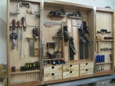 Hanging Tool Cabinet For Hand Tools