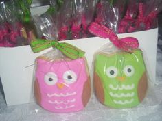 Owl cookies.