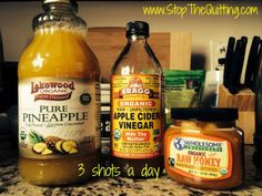 Apple Cider Vinegar has many great health benefits. I drink it every day!