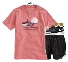"""""""summer please"""" by gourney ❤ liked on Polyvore featuring NIKE, Vineyard Vines, Ray-Ban, Lord & Taylor, women's clothing, women, female, woman, misses and juniors"""