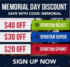 Spartan discounts
